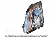2008 - 2013 CADILLAC CTS LEFT DRIVER SIDE HEADLIGHT